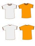 Blank tshirt vector illustration