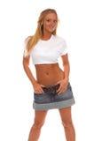 blank tshirten Fotografering för Bildbyråer