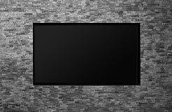 Blank tv Stock Image