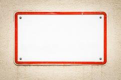 Blank undertecknar Fotografering för Bildbyråer