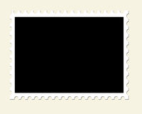 Blank Unused Postage Stamp Royalty Free Stock Images