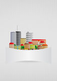 Blank urban Stock Images