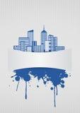 Blank urban Stock Image