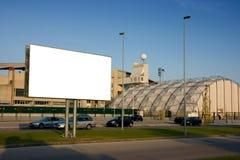 blank utvändig stadion för affischtavla royaltyfria bilder