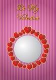 Blank valentine Royalty Free Stock Photo