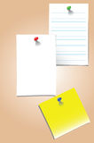 Blank vector memo Royalty Free Stock Images