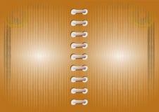 Blank vector notebook Stock Photo