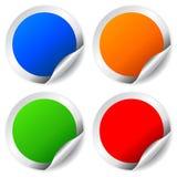 Blank vector sticker Royalty Free Stock Photos