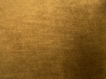Blank Velvet Background-Gold Color Stock Images