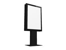 Blank Vertical Billboard Royalty Free Stock Images