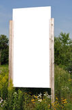 Blank Vertical Sign Stock Image
