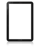 Blank vertical tablet PC template Stock Photography