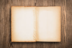 Blank vintage book. Stock Photos