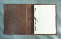 Blank vintage book page Stock Photography