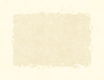 Blank Vintage Paper Texture with thick Frame Royalty Free Stock Photo