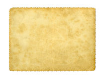 Blank vintage photo paper Royalty Free Stock Image