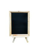 Blank vintage slate blackboard Royalty Free Stock Photos