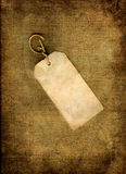 Blank vintage tag Royalty Free Stock Photo