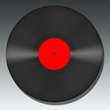 Blank Vinyl Record Royalty Free Stock Photo