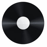 Blank vinyl record Royalty Free Stock Photography
