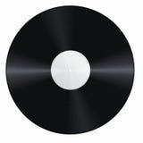 Blank vinyl record Royalty Free Stock Photography