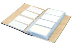 Blank visit cards Stock Photography
