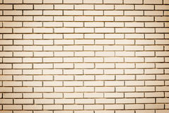 Blank wall made of bricks. Royalty Free Stock Images