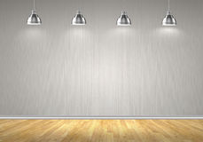 Blank wall Royalty Free Stock Images