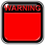 Blank Warning Sign Royalty Free Stock Photography