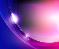 Blank waveabstrakt begreppbakgrund Royaltyfri Foto