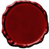 Blank wax seal Royalty Free Stock Image