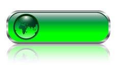 Blank web button Stock Photo