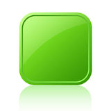Blank web button Royalty Free Stock Photo