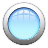Blank web button. Illustration of blank metallic web button Stock Photos