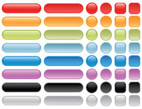 Blank web buttons. Stock Photography