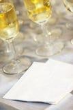Blank Wedding napkin Royalty Free Stock Image