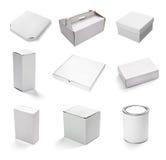 Blank white box Stock Photo