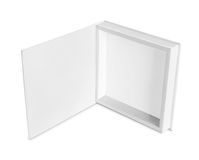 Blank white box Royalty Free Stock Photos