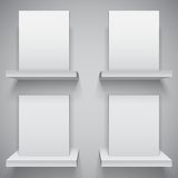 Blank White Boxes Royalty Free Stock Image