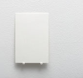 Blank white card Royalty Free Stock Photography