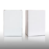 Blank white cardboard box Royalty Free Stock Photo