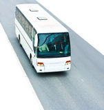 Blank white coach Stock Photography