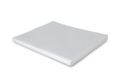Blank white cover page magazine Royalty Free Stock Photos