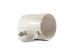 The blank White Cup Stock Image