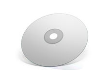 Blank White  DVD Royalty Free Stock Photos
