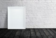 Blank white frame Royalty Free Stock Photography