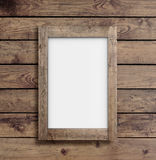 Blank white frame Royalty Free Stock Images