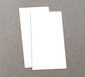 Blank white 4x8 inch flyer collection - 8. Blank white paper flyer isolated on Background Royalty Free Stock Image