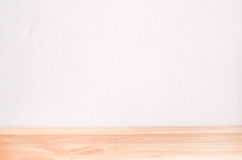 Blank white Interior room and wooden floor Royalty Free Stock Images