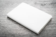 Blank white mock up book Stock Photo
